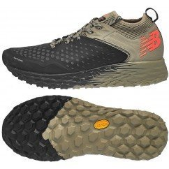 chaussures de trail running pour hommes new balance mt hierro v4 mthierb4 Black with Trench / Alpha Orange