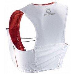 sac de trail running salomon s lab ultra 8 white 393814