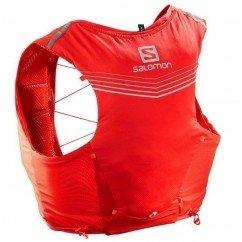 sac de trail running salomon adv skin 5 set fiery red lc108940