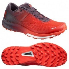 chaussures de trail running pour hommes salomon s-lab ultra 2 409272 red / maverick / white