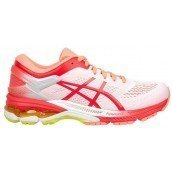 chaussures de running pour hommes asics gel kayano 25 1011a019-100 white / blue print