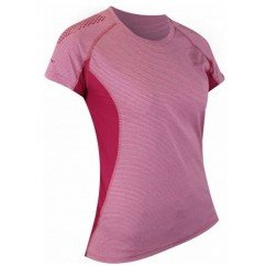 tee de running pour femmes raidlight technical ss top