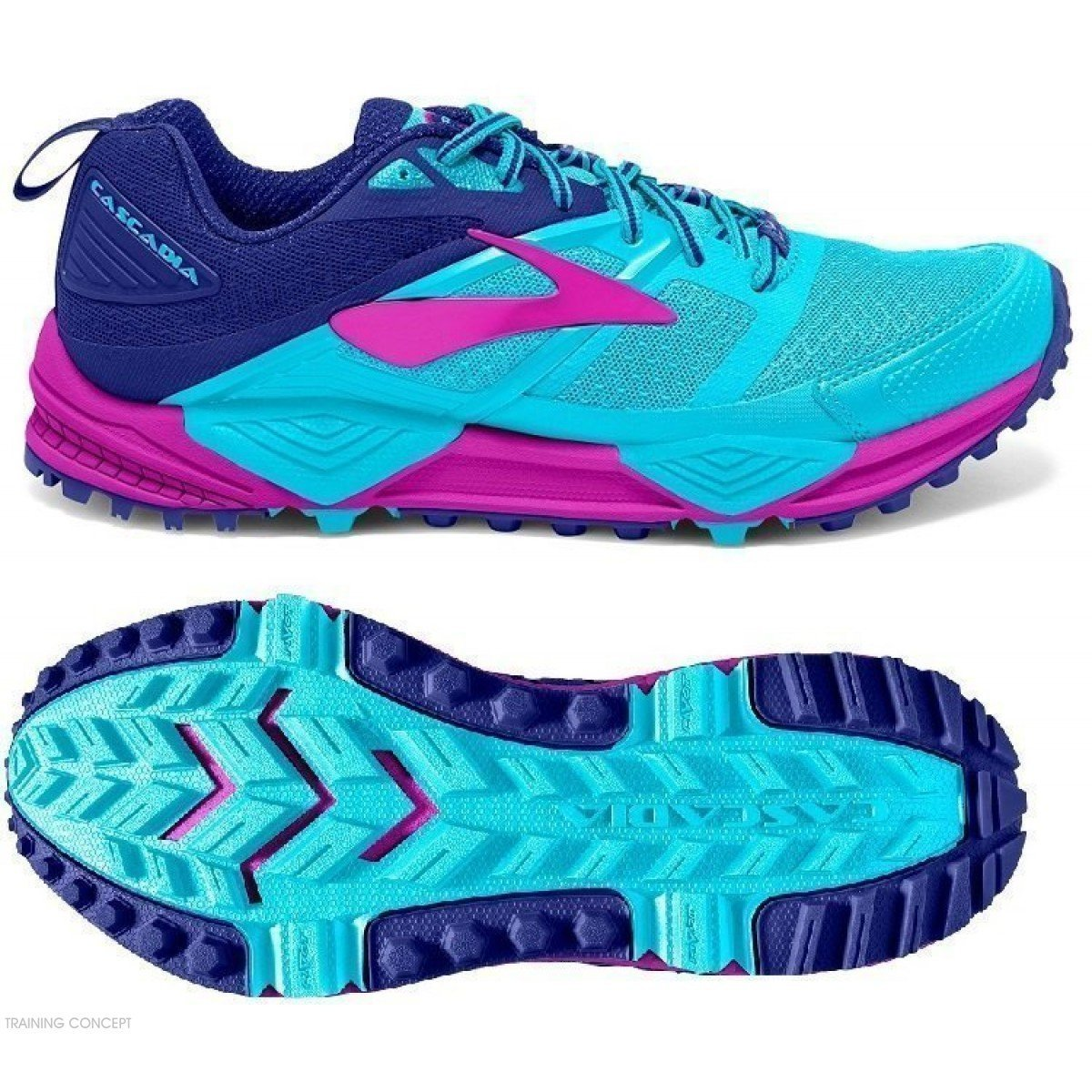 a10443a8d6c chaussure de trail running pour femme brooks cascadia 12