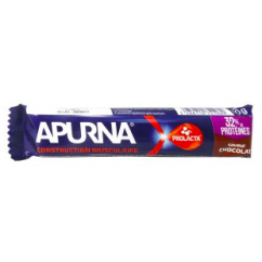 Apurna Barre Protéines Construction Musculaire Chocolat