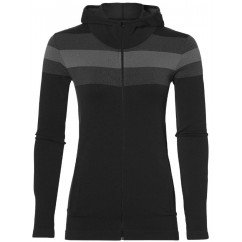 maillot manches longues asics seamless fz hoodie 153386