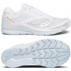 chaussure de running saucony kinvara white s10418-40