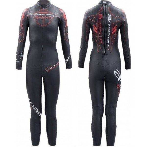 Combinaison de triathlon néoprène Aquaman Bionik Lady 2018