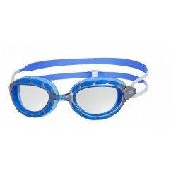 LUNETTES ZOGGS PREDATOR SILVER/BLUE/CLEAR