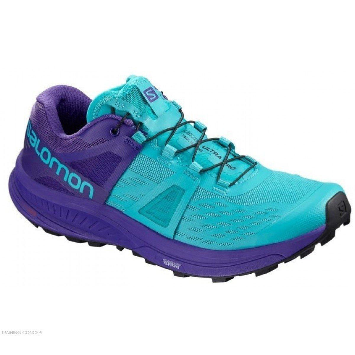 De Running Trail Salomon Pour Blue Chaussure 404948 Ultra Pro Femmes fgyb76