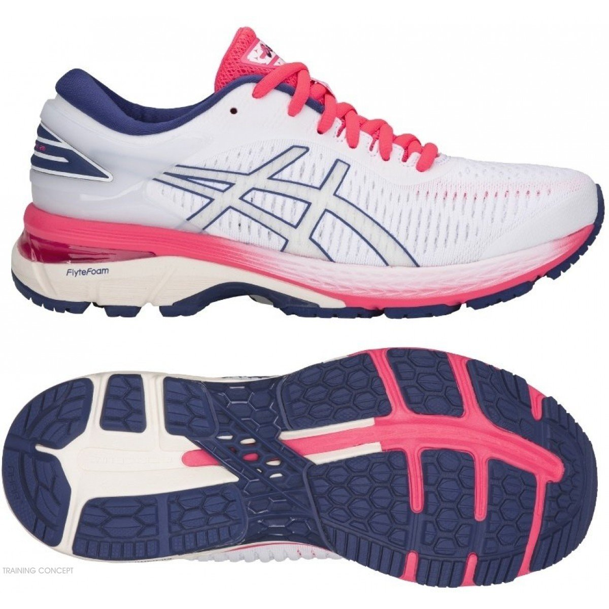 Asics Femmes Gel Kayano 25 Pour Chaussure De Running W9I2EDH