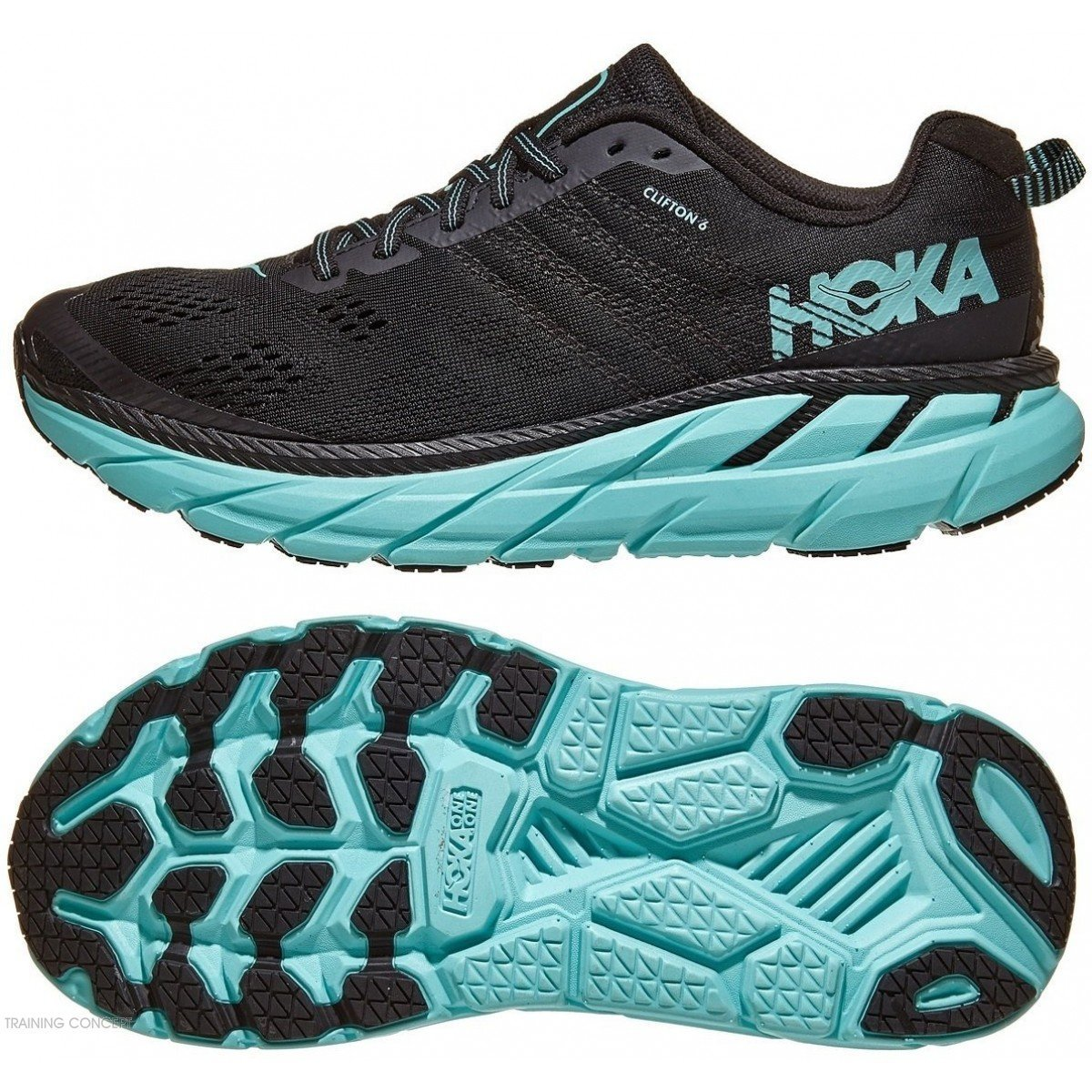 authentic discount shop famous brand chaussure de running pour femme hoka clifton 6 1102873 basy ...