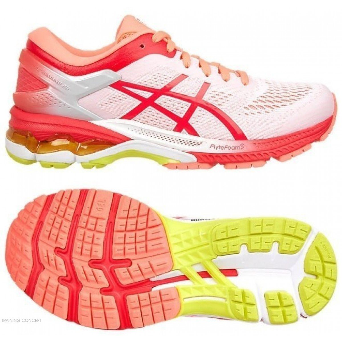 Asics 25 Pour Kayano Gel 100 De Hommes Running Chaussures 1011a019 W2I9HEDY