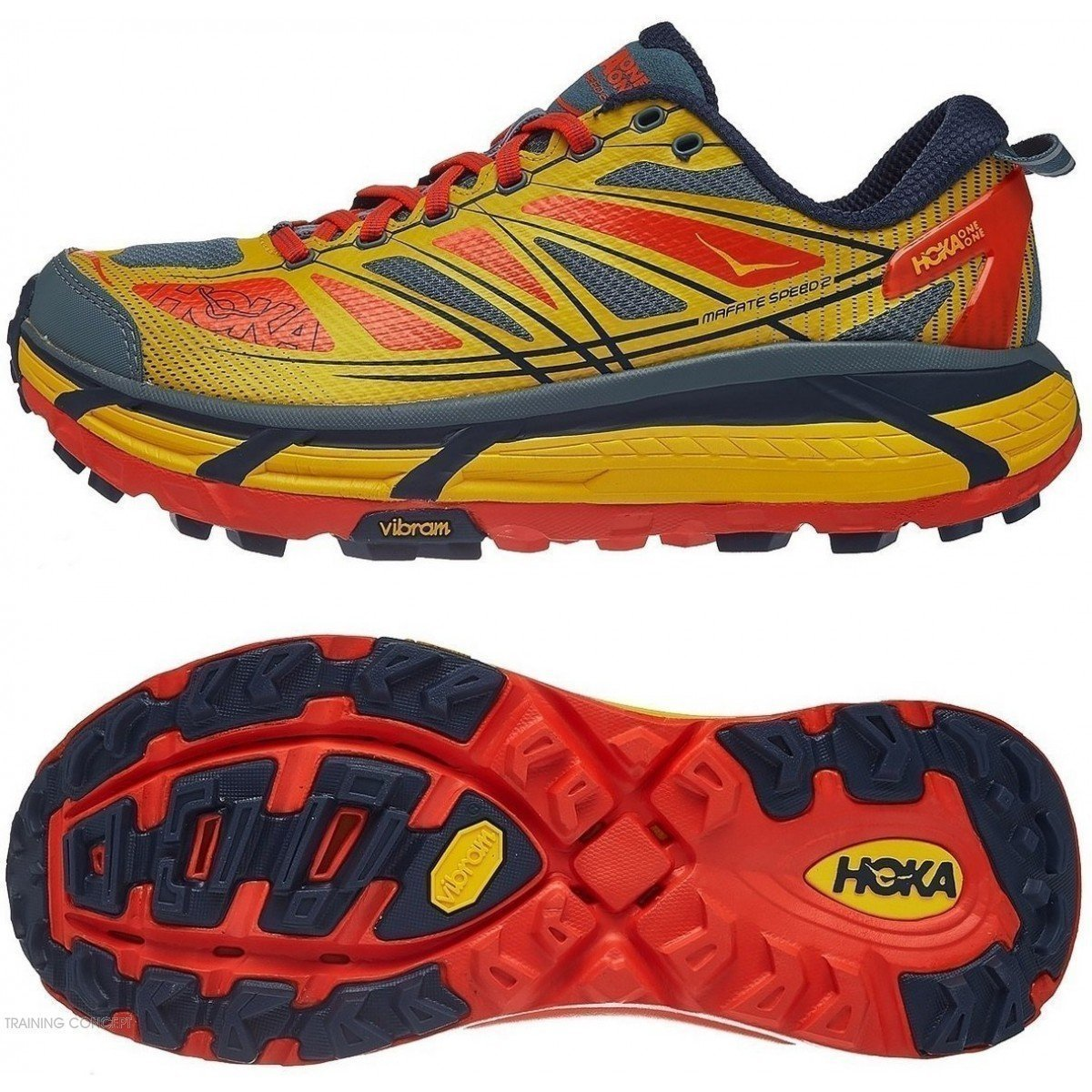 new styles good selling fast delivery chaussure de trail running hoka mafate speed 2 1012343ogmo