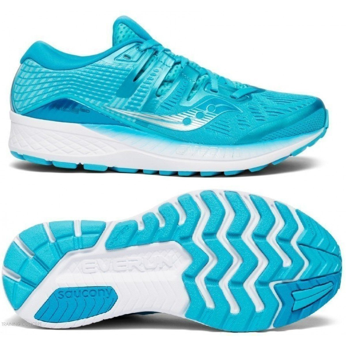 Blue 3 Femmes Running Pour S10444 De Chaussure Saucony Iso Ride EWH2DI9