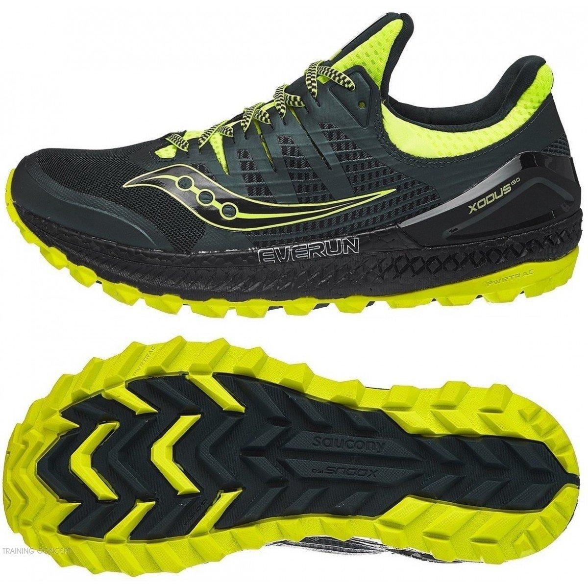 Chaussures de Running Femme Saucony Xodus ISO 3 Gris Noir