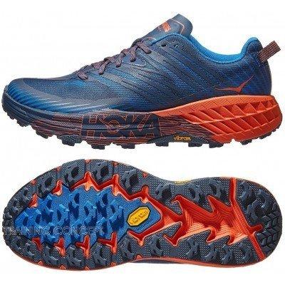 chaussures de trail running pour hommes hoka one one speedgoat 2 1099733nsor nasturtium orange