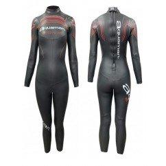 combinaison de triathlon néoprène pour femmes aquaman bionik