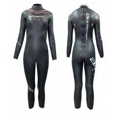 combinaison de triathlon néoprène pour femmes aquaman cell gold