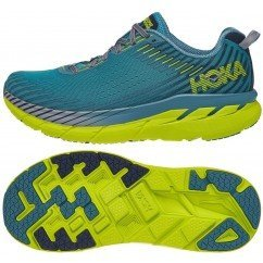 chaussure de running pour homme hoka clifton 5 1093755 cssb caribbean sea / storm blue