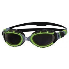 lunettes de natation et de triathlon zoggs predator flex titanium reactor green / black / smoke 320846