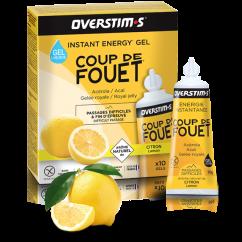 OVERSTIM'S GEL Coup de Fouet Liquide Citron