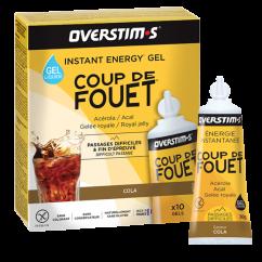 OVERSTIM'S GEL Coup de Fouet Liquide Cola