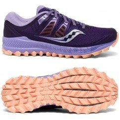 chaussure de trail running pour femmes saucony PEREGRINE ISO S10483-37 purple / peach