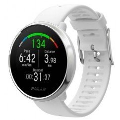 montre cardiofrequencemetre polar ignite white silver 90071067