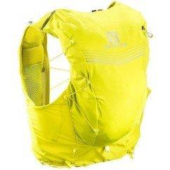 sac de trail running salomon adv skin 12 set yellow lc108770 sulphur spring