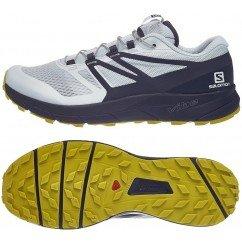 chaussure de trail running pour hommes salomon sense ride 406740 ILLUSION BLUE / GREY