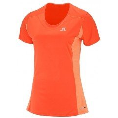 tee shirt de running pour femmes salomon heather tee l402157