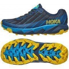chaussure de trail running hoka torrent pour hommes 1097751 modb moonlit ocean / blue