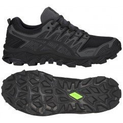 chaussure de trail running asics gel fuji trabuco 7 gtx 1011a209 001 black / dark grey