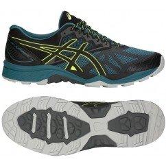 chaussure de trail running asics gel fuji trabuco 6  homme T7E4N 400 deep aqua / black