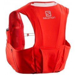 sac de trail running salomon sense ultra 8l rouge 401699