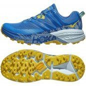 chaussures de trail running pour femmes hoka one one speedgoat 3 1099734pbbm palace blue