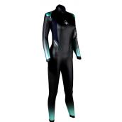 combinaison de triathlon en neoprene pour femme aquasphere aquaskin 2.0