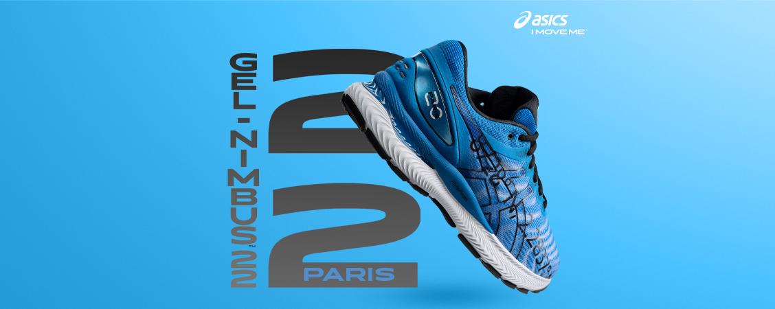 <div><strong>Asics GEL-NIMBUS™ 22 - Marathon de Paris</strong><br /></div>