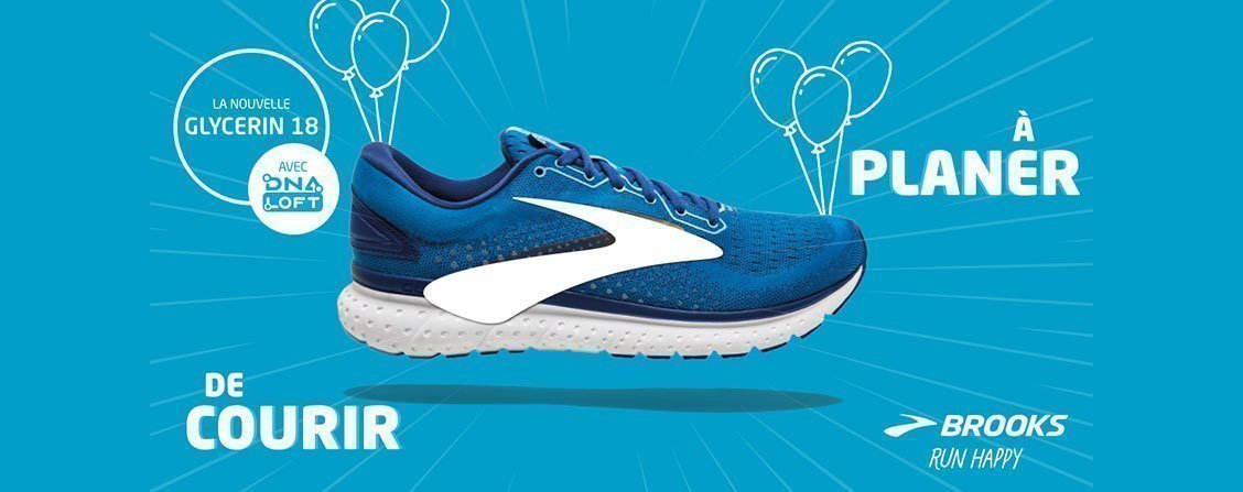 <div><strong>Brooks Glycerin 18</strong><br /></div>